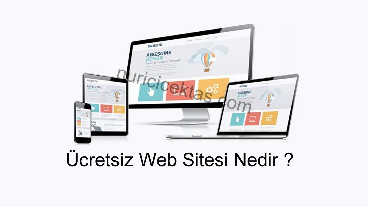 Ücretsiz Web Sitesi