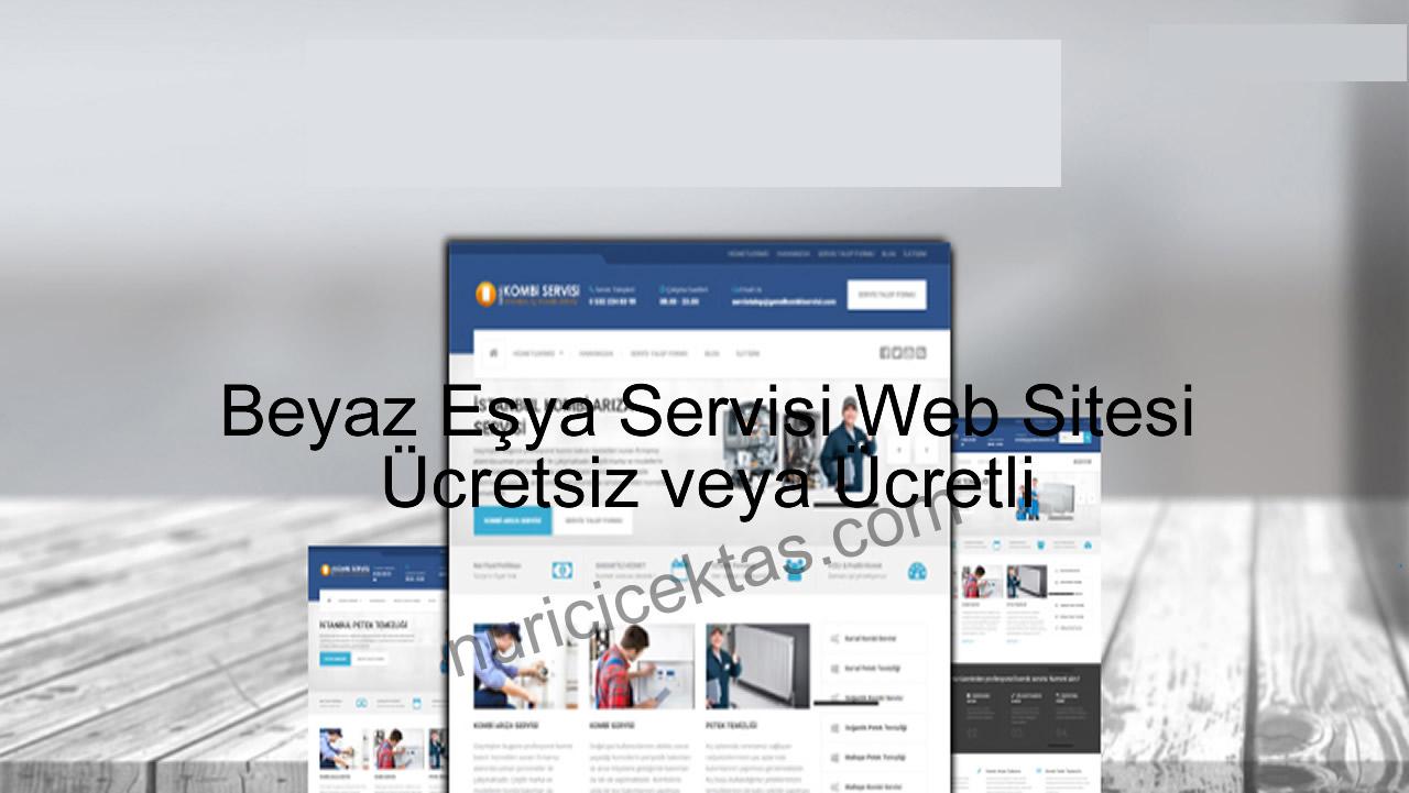 Beyaz Eşya Servisi Web Sitesi
