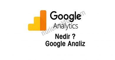 Google Analytics Nedir ? Ücretsiz Analiz